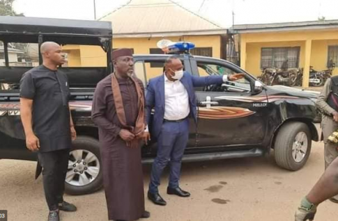?????Senator Okorocha arrested for breaching public peace as many were injured and cars destroyed (photos/video)